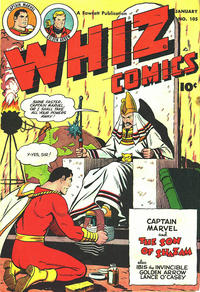 Cover Thumbnail for Whiz Comics (Fawcett, 1940 series) #105