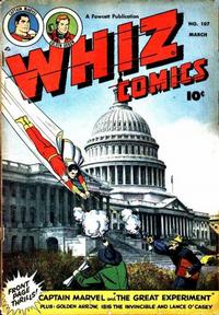 Cover Thumbnail for Whiz Comics (Fawcett, 1940 series) #107