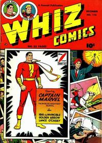 Cover Thumbnail for Whiz Comics (Fawcett, 1940 series) #116