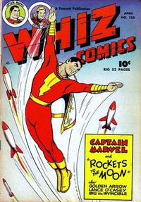 Cover Thumbnail for Whiz Comics (Fawcett, 1940 series) #120