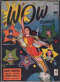 Cover Thumbnail for Wow Comics (Fawcett, 1940 series) #52