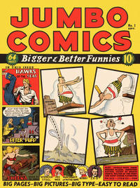 Cover for Jumbo Comics (1938 series) #1