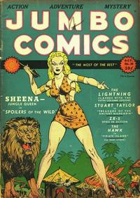 Cover for Jumbo Comics (1938 series) #20