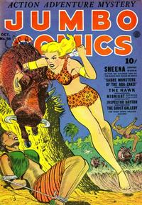Cover for Jumbo Comics (1938 series) #56