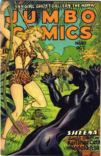 Cover Thumbnail for Jumbo Comics (Fiction House, 1938 series) #80