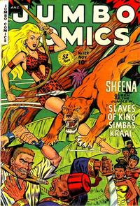 Cover Thumbnail for Jumbo Comics (Fiction House, 1938 series) #129