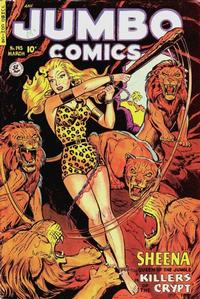 Cover for Jumbo Comics (1938 series) #145