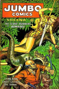 Cover Thumbnail for Jumbo Comics (Fiction House, 1938 series) #156