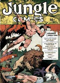 Cover Thumbnail for Jungle Comics (Fiction House, 1940 series) #1