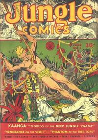 Cover Thumbnail for Jungle Comics (Fiction House, 1940 series) #6