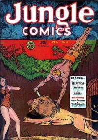 Cover Thumbnail for Jungle Comics (Fiction House, 1940 series) #12