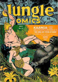 Cover Thumbnail for Jungle Comics (Fiction House, 1940 series) #41