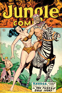 Cover Thumbnail for Jungle Comics (Fiction House, 1940 series) #98