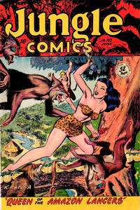 Cover Thumbnail for Jungle Comics (Fiction House, 1940 series) #102