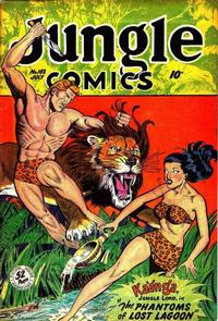 Cover Thumbnail for Jungle Comics (Fiction House, 1940 series) #103