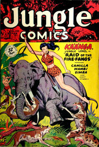 Cover Thumbnail for Jungle Comics (Fiction House, 1940 series) #110