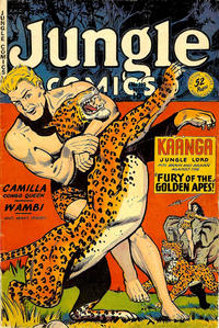 Cover Thumbnail for Jungle Comics (Fiction House, 1940 series) #119