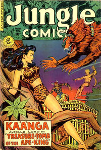 Cover Thumbnail for Jungle Comics (Fiction House, 1940 series) #131