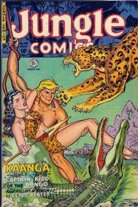 Cover Thumbnail for Jungle Comics (Fiction House, 1940 series) #139