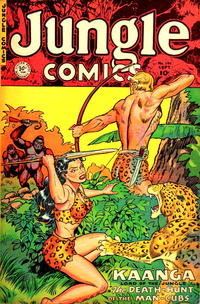 Cover Thumbnail for Jungle Comics (Fiction House, 1940 series) #141