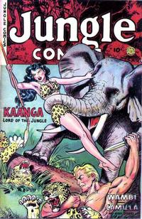Cover Thumbnail for Jungle Comics (Fiction House, 1940 series) #151