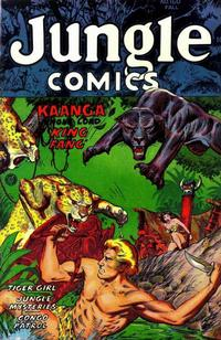 Cover Thumbnail for Jungle Comics (Fiction House, 1940 series) #160