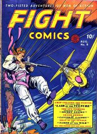 Cover Thumbnail for Fight Comics (Fiction House, 1940 series) #8