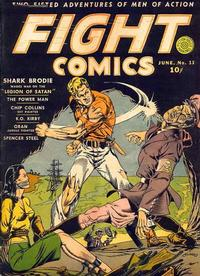 Cover Thumbnail for Fight Comics (Fiction House, 1940 series) #13