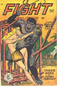Cover Thumbnail for Fight Comics (Fiction House, 1940 series) #55