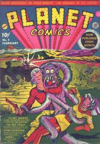 Cover Thumbnail for Planet Comics (Fiction House, 1940 series) #2