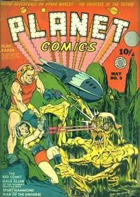 Cover Thumbnail for Planet Comics (Fiction House, 1940 series) #5