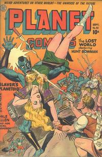 Cover Thumbnail for Planet Comics (Fiction House, 1940 series) #32