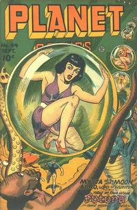 Cover Thumbnail for Planet Comics (Fiction House, 1940 series) #44