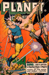 Cover Thumbnail for Planet Comics (Fiction House, 1940 series) #46
