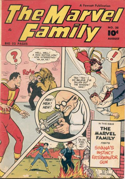 Cover for The Marvel Family (1945 series) #38