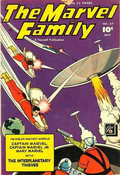 Cover for The Marvel Family (Fawcett, 1945 series) #47