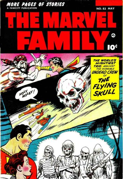 Cover for The Marvel Family (Fawcett, 1945 series) #83