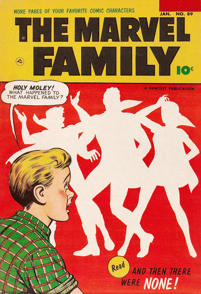 Cover for The Marvel Family (Fawcett, 1945 series) #89