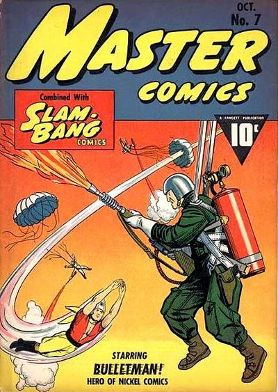 Cover for Master Comics (1940 series) #7