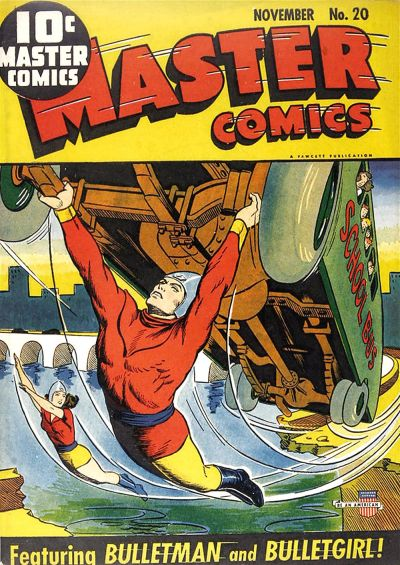 Cover for Master Comics (Fawcett, 1940 series) #20