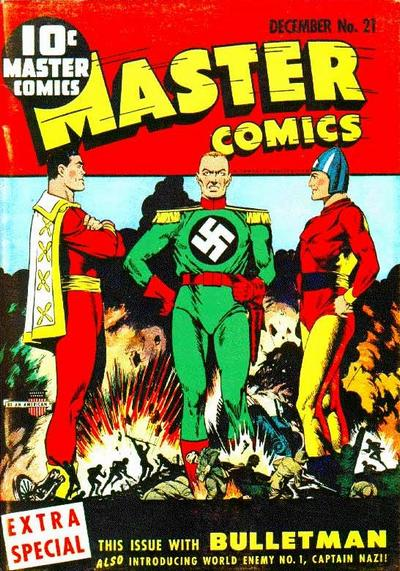 Cover for Master Comics (Fawcett, 1940 series) #21