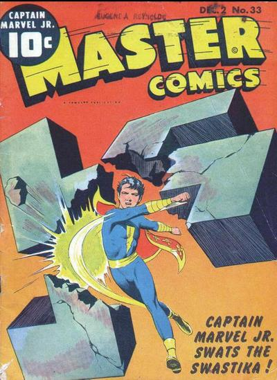 Cover for Master Comics (1940 series) #33