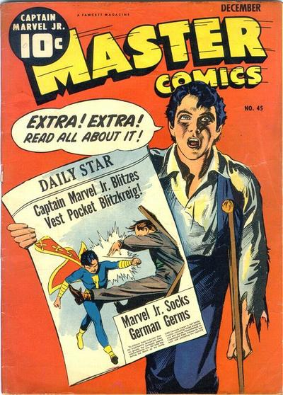 Cover for Master Comics (Fawcett, 1940 series) #45