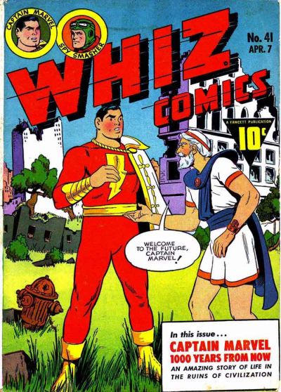 Cover for Whiz Comics (1940 series) #41