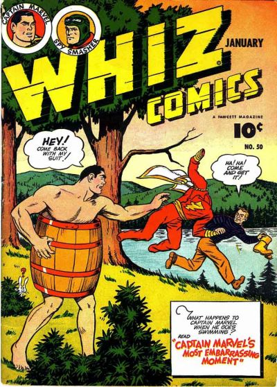 Cover for Whiz Comics (Fawcett, 1940 series) #50