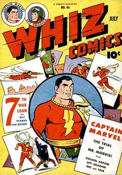 Cover for Whiz Comics (Fawcett, 1940 series) #66
