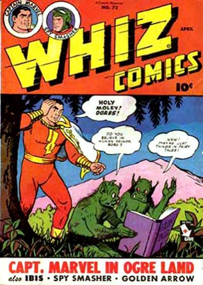 Cover for Whiz Comics (Fawcett, 1940 series) #73