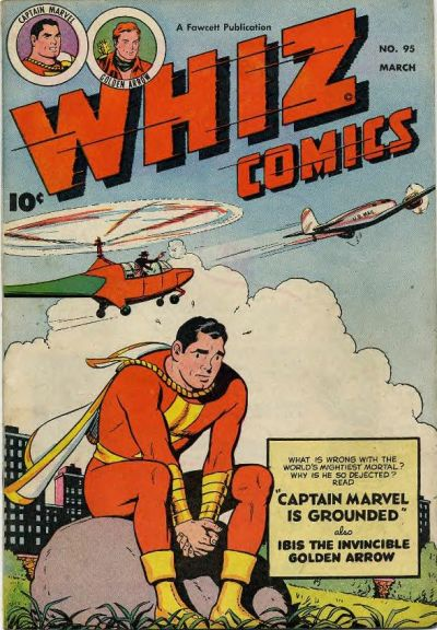 Cover for Whiz Comics (Fawcett, 1940 series) #95