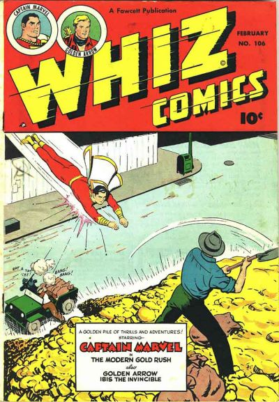 Cover for Whiz Comics (Fawcett, 1940 series) #106