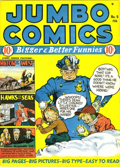 Cover for Jumbo Comics (1938 series) #6